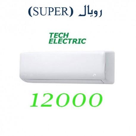 کولر گازی 12000 تک الکتریک اینورتر رویال SUPER