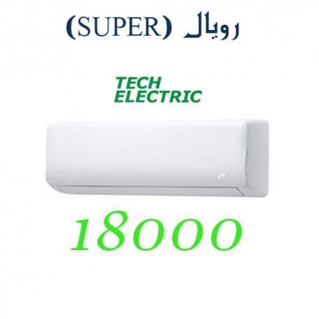 کولر گازی 18000 تک الکتریک اینورتر رویال SUPER