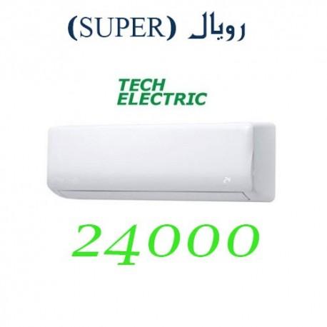 کولر گازی 24000 تک الکتریک اینورتر رویال SUPER