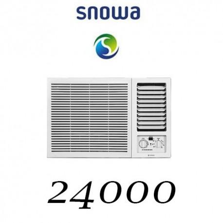 کولر گازی 24000 اسنوا پنجره ای SW-24HC-TP