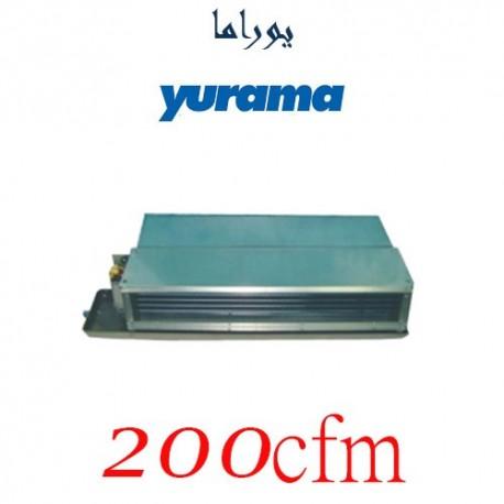 فن کویل سقفی توکار 200 یوراما