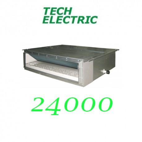 داکت اسپلیت اینورتر 24000 تک الکتریک