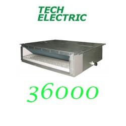 داکت اسپلیت اینورتر 36000 تک الکتریک