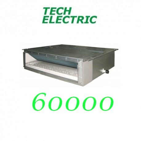 داکت اسپلیت اینورتر 60000 تک الکتریک