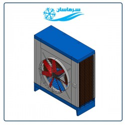 کولر آبی صنعتی سلولزی آکسیال 50000 سرماسان