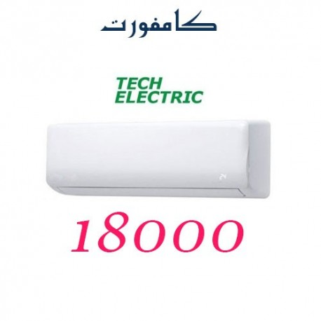 کولر گازی 18000 تک الکتریک دیواری مدل کامفورت