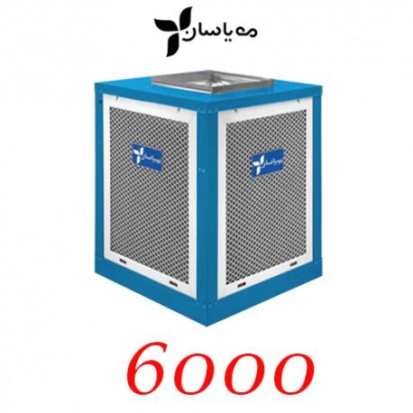کولر آبی سلولزی مهیاسان 6000 بالازن با موتور 3/4